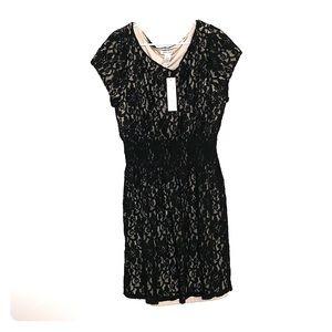 -Little Lace Black Dress-